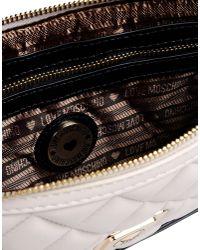 Love Moschino | Black Medium Leather Bag | Lyst