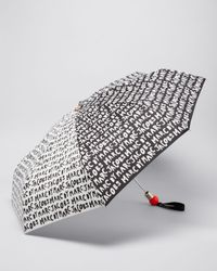 Marc By Marc Jacobs | White Logo Umbrella | Lyst