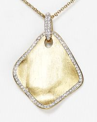Nadri | Metallic Petals Pendant Necklace 15 | Lyst