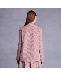 Trademark | Red Bow Placket Top | Lyst
