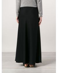 The Row - Black 'annistyn' Skirt - Lyst