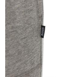 BOSS - Gray 'jersey Long Pant Cw' | Stretch Cotton Modal Pants for Men - Lyst