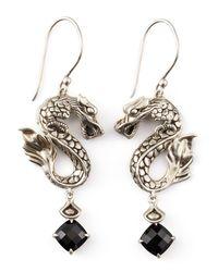 John Hardy - Metallic Naga Batu Drop Earrings - Lyst
