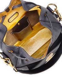 Ralph Lauren - Blue Nappa Ricky Drawstring Bag - Lyst