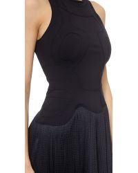 Alexander Wang - Blue Pleated Dress With Sneaker Detail - Referee - Lyst