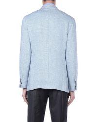 Lardini - Blue Blazer for Men - Lyst