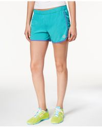 "Roxy - Blue 4"" Line Up Shorts - Lyst"