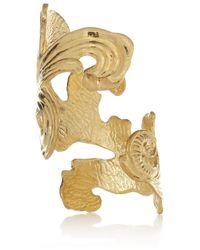 Emilio Pucci - Metallic Engraved Goldtone Cuff - Lyst