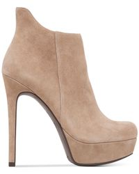 Jessica Simpson | Natural Shawley Platform Dress Booties | Lyst