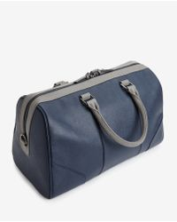 Ted Baker - Blue Contrast Handle Holdall Bag for Men - Lyst