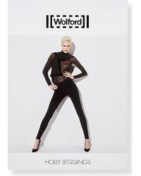 Wolford - Black Holly Leggings - Lyst