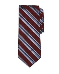 Brooks Brothers - Red Triple Stripe Tie for Men - Lyst