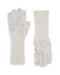 Rag & Bone | Gray 'catherine' Cashmere Gloves | Lyst