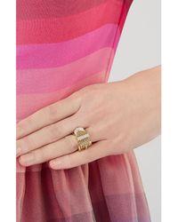 Aurelie Bidermann | Metallic Diamond Belt Ring | Lyst