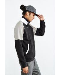 Stussy - Black Half-zip Funnel Neck Sweatshirt for Men - Lyst