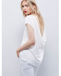 Free People - White We The Free Womens We The Free Prairie Tee - Lyst