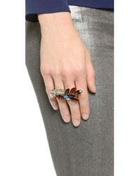 Jenny Packham - Multicolor Bianca Ii Ring - Multi - Lyst