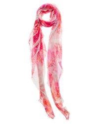 Mangrove - Pink 'Carmen' Scarf - Lyst