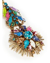 Erickson Beamon | Multicolor 'telepathic' Crystal Firework Drop Earrings | Lyst