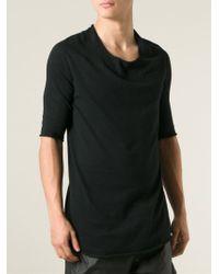 Lost & Found - Black Three-Quarter Sleeve Sweater for Men - Lyst