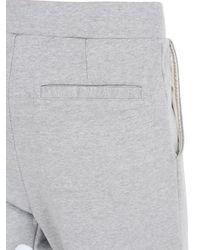 Tsumori Chisato - Gray Textured Waves Cotton Jogging Pants for Men - Lyst
