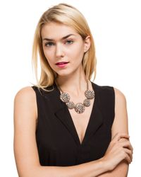 BaubleBar - Black Vintage Dandelion Collar - Lyst
