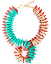 Silvia Rossi | Green 'infinite' Necklace | Lyst