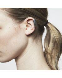 Maya Magal - Metallic Long Ear Cuff Silver - Lyst
