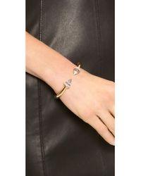 Vita Fede | Pink Titan Stone Bracelet - Rose Goldabalone | Lyst