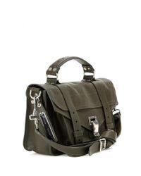 Proenza Schouler - Green Ps1 Tiny Leather Shoulder Bag - Lyst