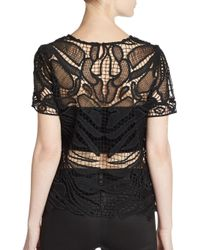 Generation Love - Black Lace Top - Lyst