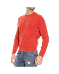 Polo Ralph Lauren - Orange Sweater for Men - Lyst