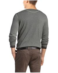 BOSS Orange - Green Sweater 'kelpen' In Cotton Blend for Men - Lyst