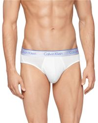 Calvin Klein | White Air Fx Hip Briefs for Men | Lyst