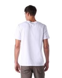 DIESEL - White T-leas for Men - Lyst