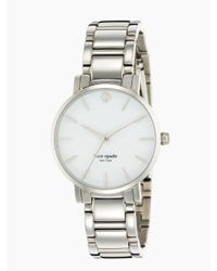 kate spade new york | Metallic Gramercy Bracelet Watch | Lyst