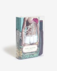 Ted Baker | Purple Geo Print Boxer Shorts for Men | Lyst