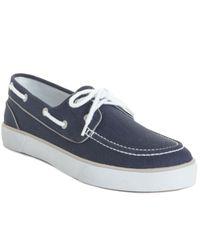 Polo Ralph Lauren | Blue Lander P Boat Shoes for Men | Lyst