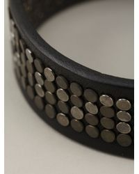 DSquared² | Black Studded Bracelet for Men | Lyst