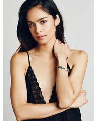 Free People | Metallic Acanthus Jewelry Womens Lunar Horizon Id Bracelet | Lyst