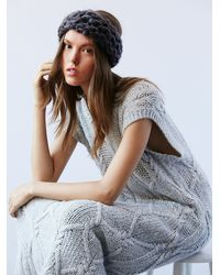 Free People | Blue Womens Slight Chill Knit Headband | Lyst