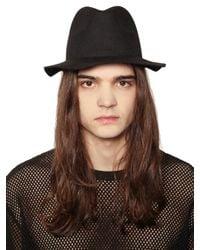 Cheap Monday   Black Felt Hat for Men   Lyst