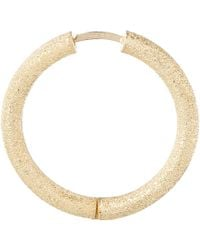 Carolina Bucci | Metallic Thick Gold Sparkle Hoop Earrings | Lyst