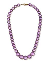 Ippolita | Purple 18k Gelato Amethyst Collar Necklace | Lyst