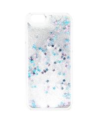 Forever 21 - Blue Glitter And Star Case For Iphone 6 - Lyst