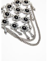 Free People - Metallic Chainmail Upper Armband - Lyst