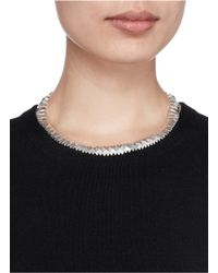 Philippe Audibert | Metallic 'connor' Metal Spike Choker Necklace | Lyst