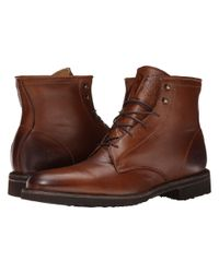 Frye - Brown Jim Lace Up for Men - Lyst