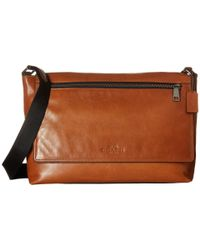 COACH | Brown Sullivan Messenger for Men | Lyst