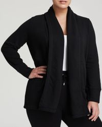Ralph Lauren - Black Lauren Plus Shawl Collar Cardigan - Lyst